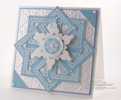 WRBF-1157-2009- Square Snowflake