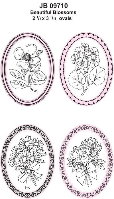 JB 09710 Beautiful Blossoms