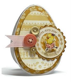 Kazan Easter Egg Card