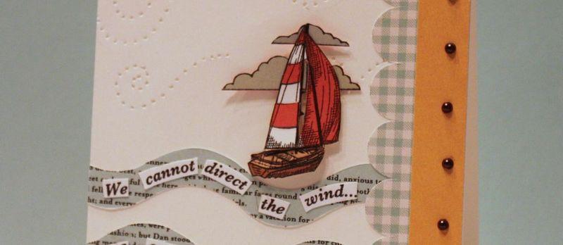 CK sailboat in the wind- sneak peek