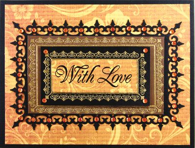 JB 09205 With Love - Victorian Nested Frames