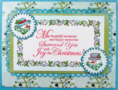 Christmas Nested Sentiments version 1
