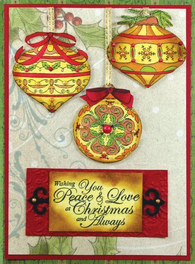 Christmas Ornament Card photo 3