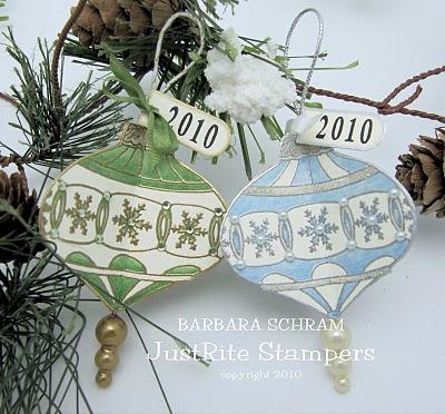 Barb Schram Christmas Ornament