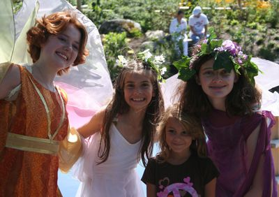 3 Fairies and Audrey