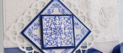 Tosh JR Delft Tile Sneak