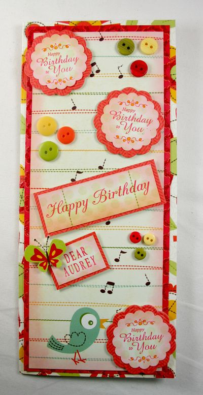 Happy Birthday to You Song Card