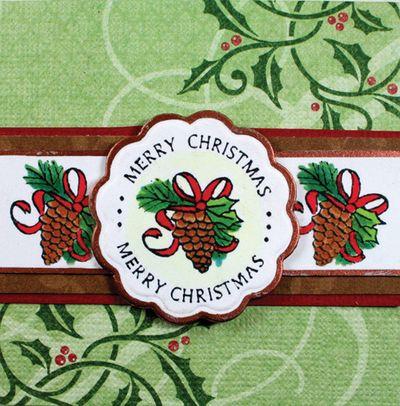 Holiday Cheer Tag K Fortin