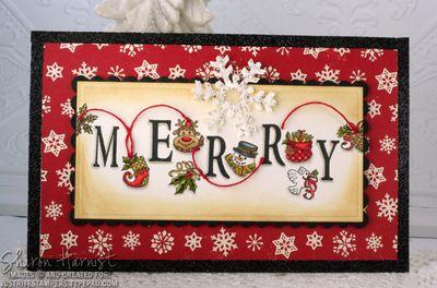 MerryHolidayCheerSignSH
