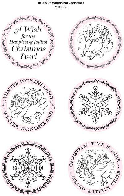JB 09795 Whimsical Christmas Art
