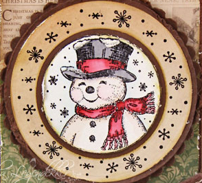 Wed-Tosha-Snowman2