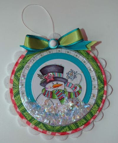 Michele Kovack-shaker ornament