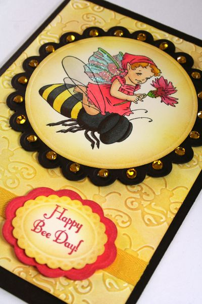 Bee Ride Close up