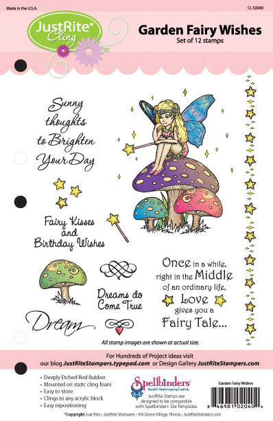Garden Fairy Wishes Packaging