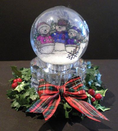 Sparky-Friends Snowglobe-3