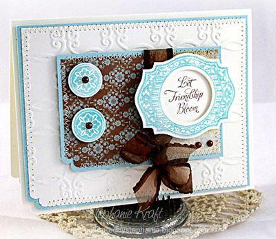 Stephanie Kraft - Friendship Blooms card 1
