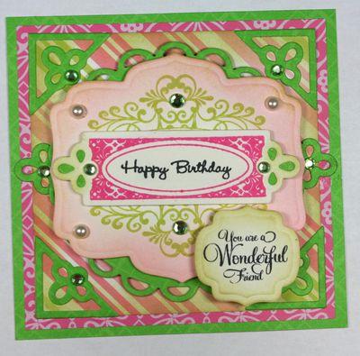 Happy Birthday - You are a Wonderfule Friend sm