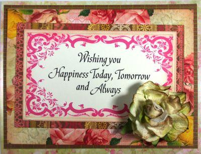 Wishing you Happiness Today