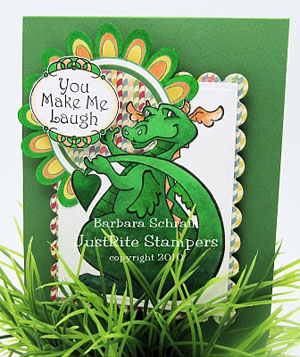 Adorable Dragon - Barb Schram