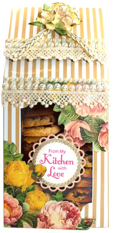 From My Kitchen Gift Boxwith cookies