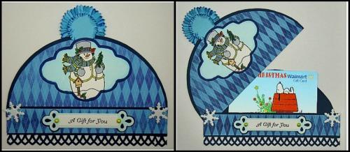 Snowmangiftcardholder