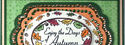 Angela Enjoy the days of Autumnsnippet