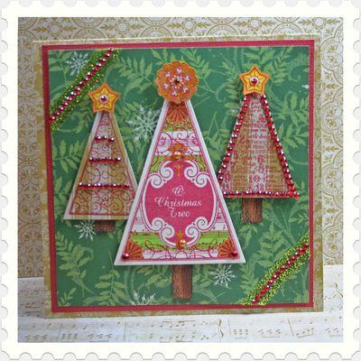 Kellie O Christmas TreeFramed