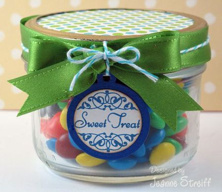 2-JMS Treat Set candy jar
