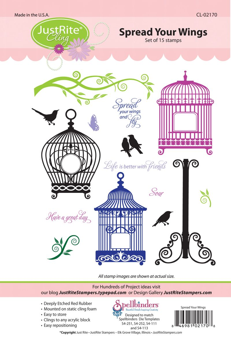 JR CL-02170 Spread Your Wings PACKAGE