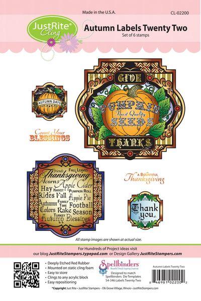 JR CL-02200 Autumn Labels Twenty Two PACKAGE copy (2)