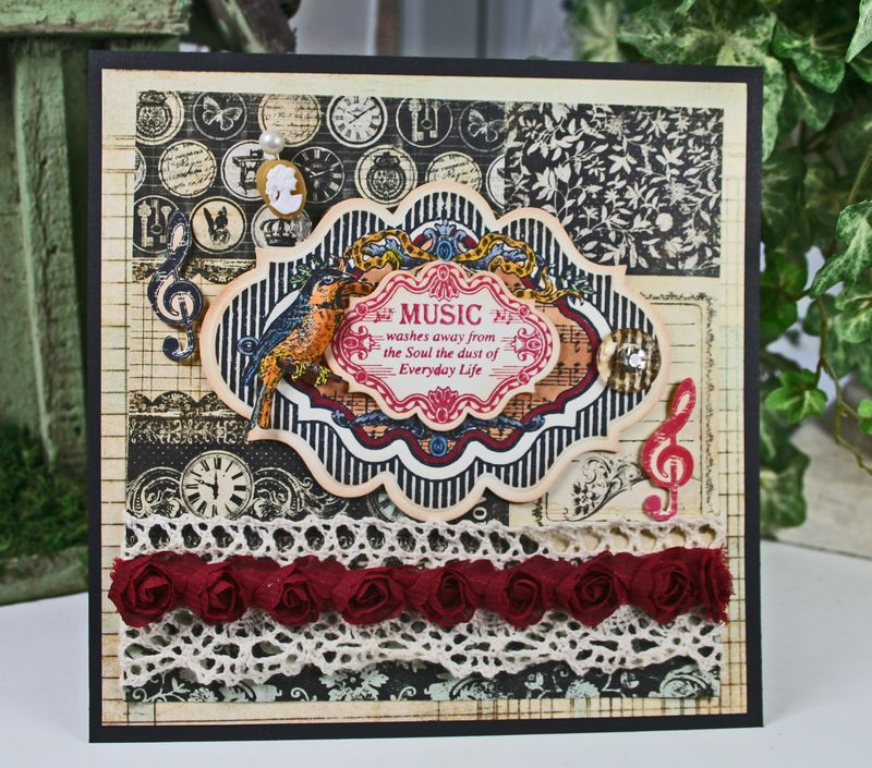 Kellie Musical Notes Card 2