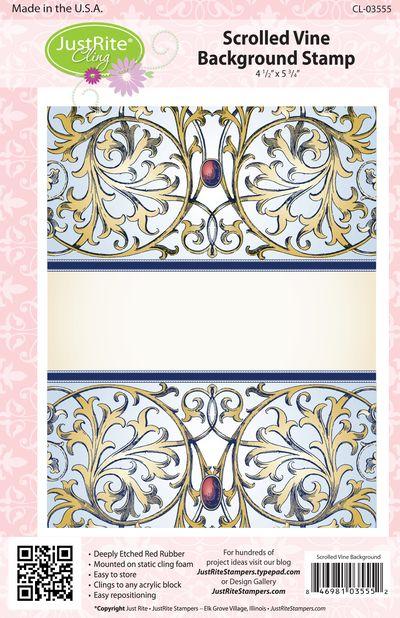 JR CL-03555 Scrolled Vine Background (3)
