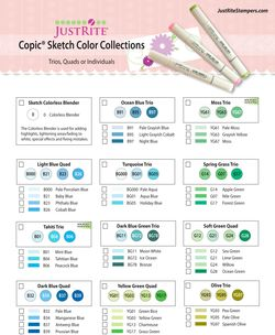 Copic Chart JustRite 4 2011-1 PREVIEW