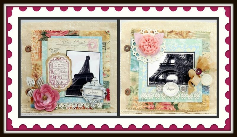 Mona Pendleton Collage Bon Voyage