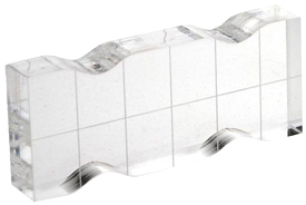 CL-03520-sm 1x3 block with Finger Grips and Grid
