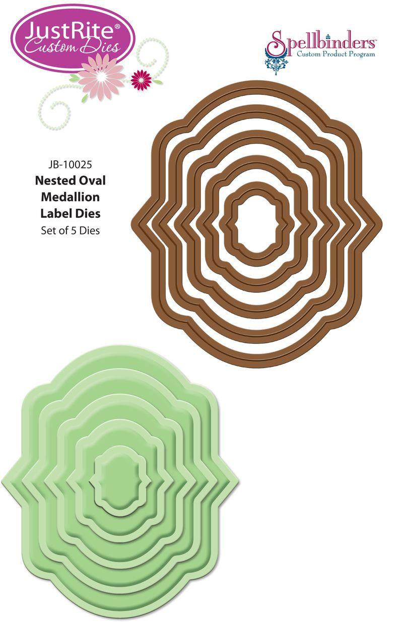 JB-10025 Nested Oval Medallion Labels Dies for Web (2)