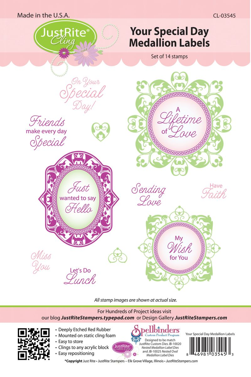 JR CL-03545 Your Special Day Medallion for web (2)