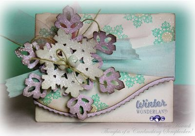 Snowflake Card designed by Michele Kovack