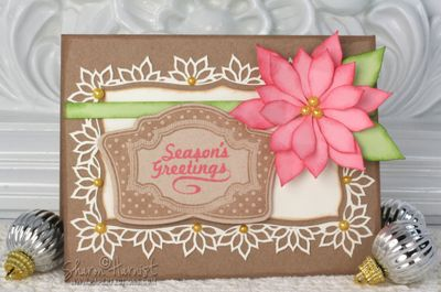 Christmas Vintage Labels card designed by Sharon Harnist