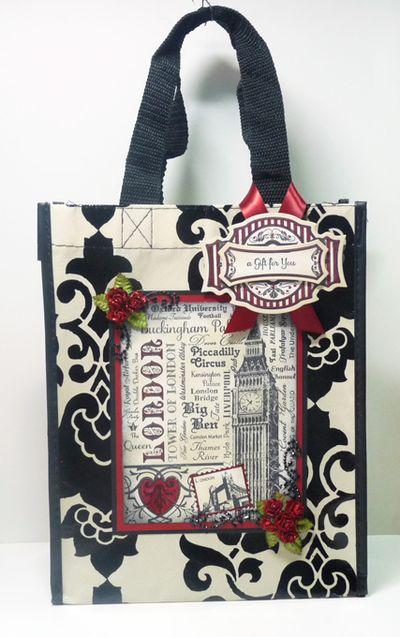 Heidi Blankenship London Gift Tote