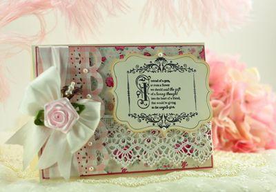 Amazing Paper Grace Stamps-Vintage Filgree Fancies