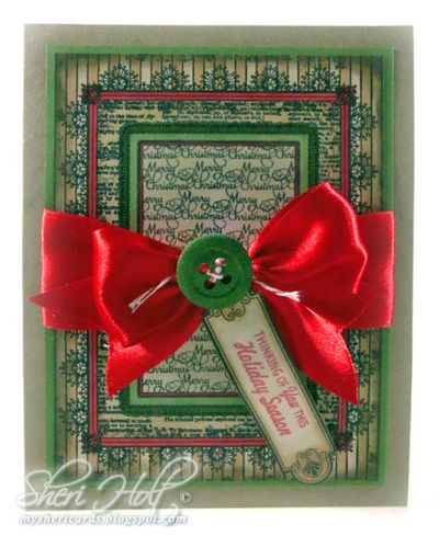 Sheri Holt Antique Christmas Tags