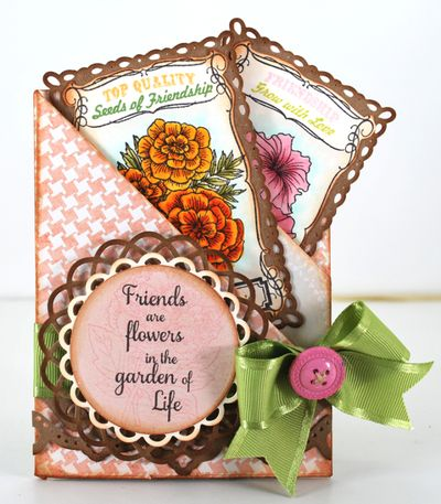 Friends are flowers designed by Eva Dobilas