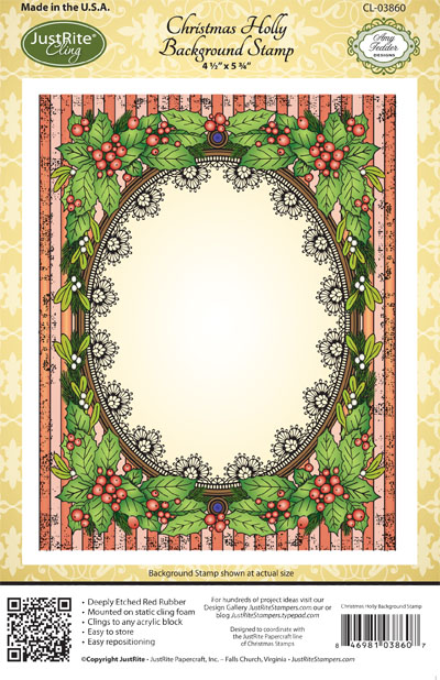 CL-03860_ Christmas_ Holly_ Background
