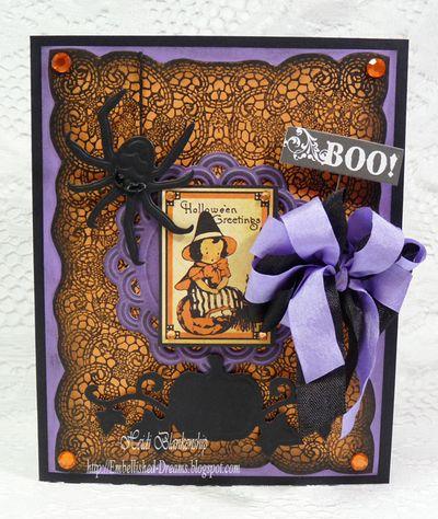Heidi Halloween Card