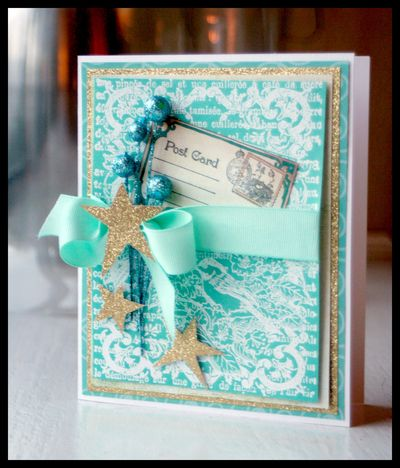 JustRite Sparkle Holiday Card