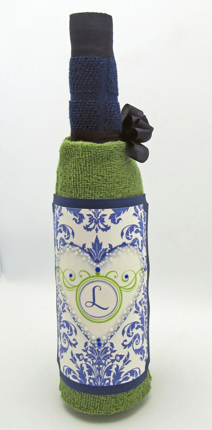 Barb Schram Wine Bottle Towel