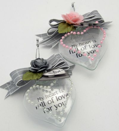 Mr & Mrs Ornaments Barb Schram