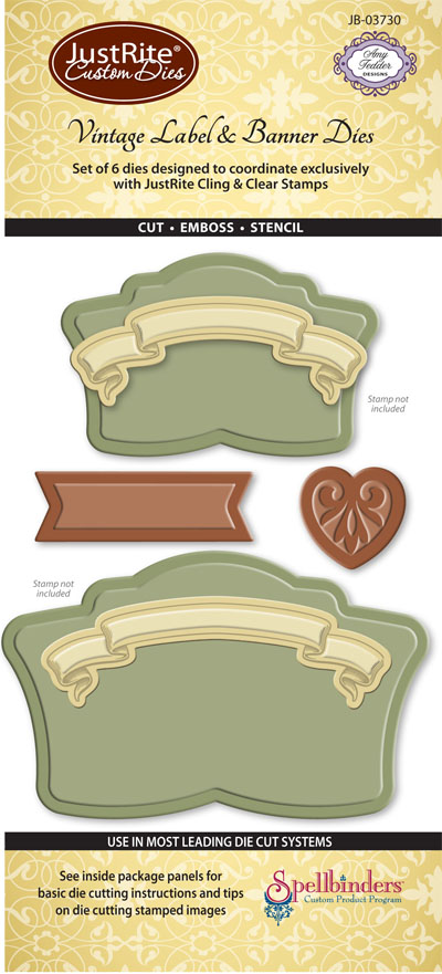 JB-03730-lg Vintage Labels and Banners
