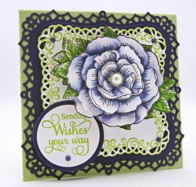 Barb Schram Floral Vintage Labels One